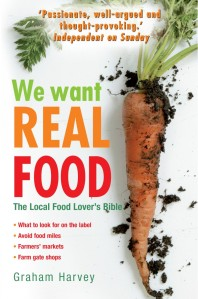 we want real food cover