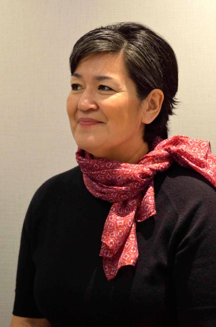 Aleqa Hammond, Prime Minister of Greenland. Photo: Sophie Morlin-Yron