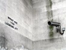 Street art by Banksy Photo: Eugene Gorny, Flickr
