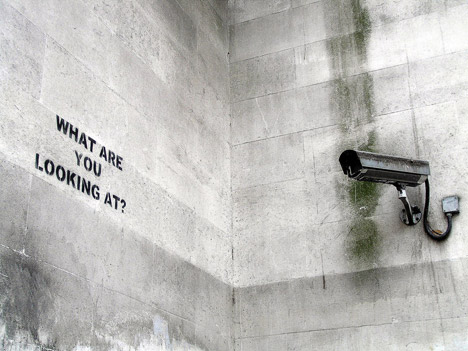 Street art by Banksy Photo: Eugene Gorny, Flickr