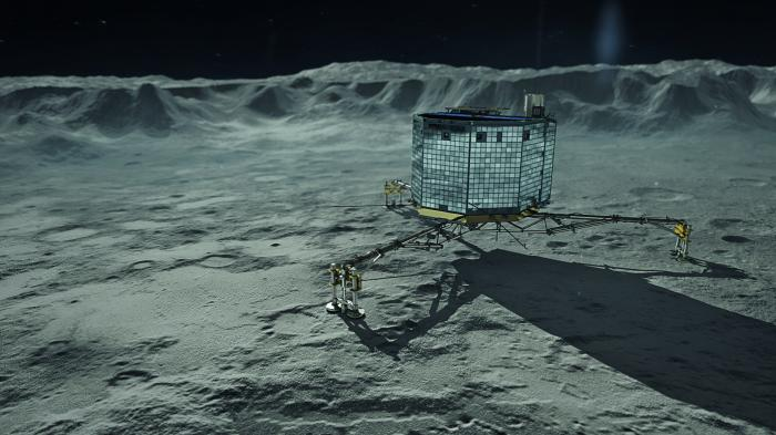 Philae on Comet 67P. Photo: Wikimedia Commons